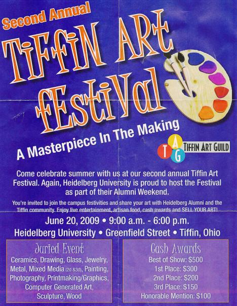 Tiffin Art Festival 2009